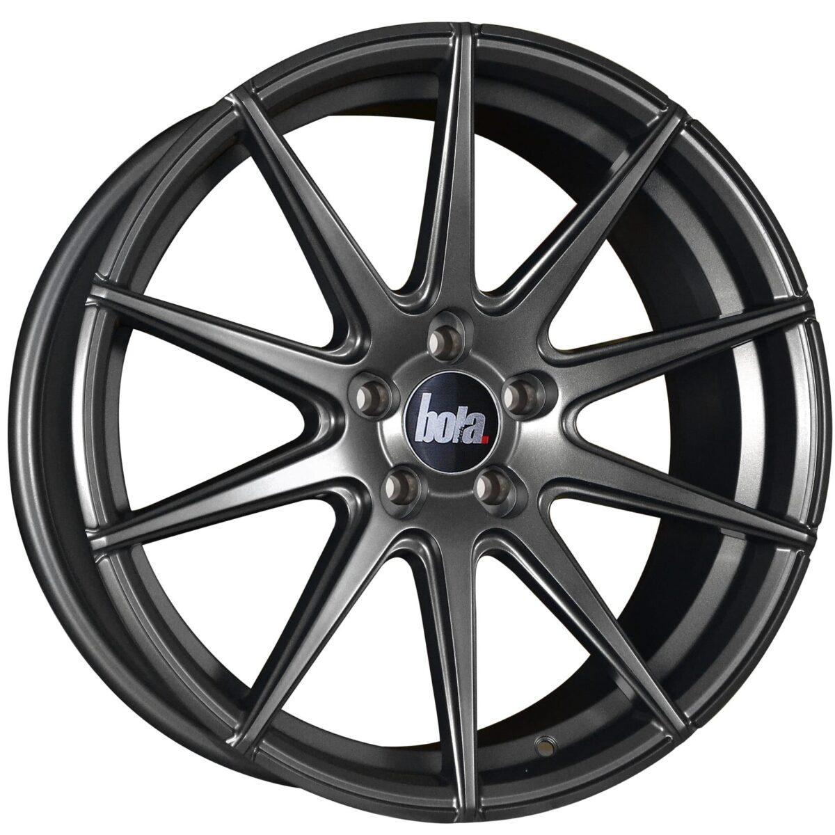 "19"" BOLA CSR Wheels - Matt Gunmetal - VW / Audi / Mercedes - 5x112"