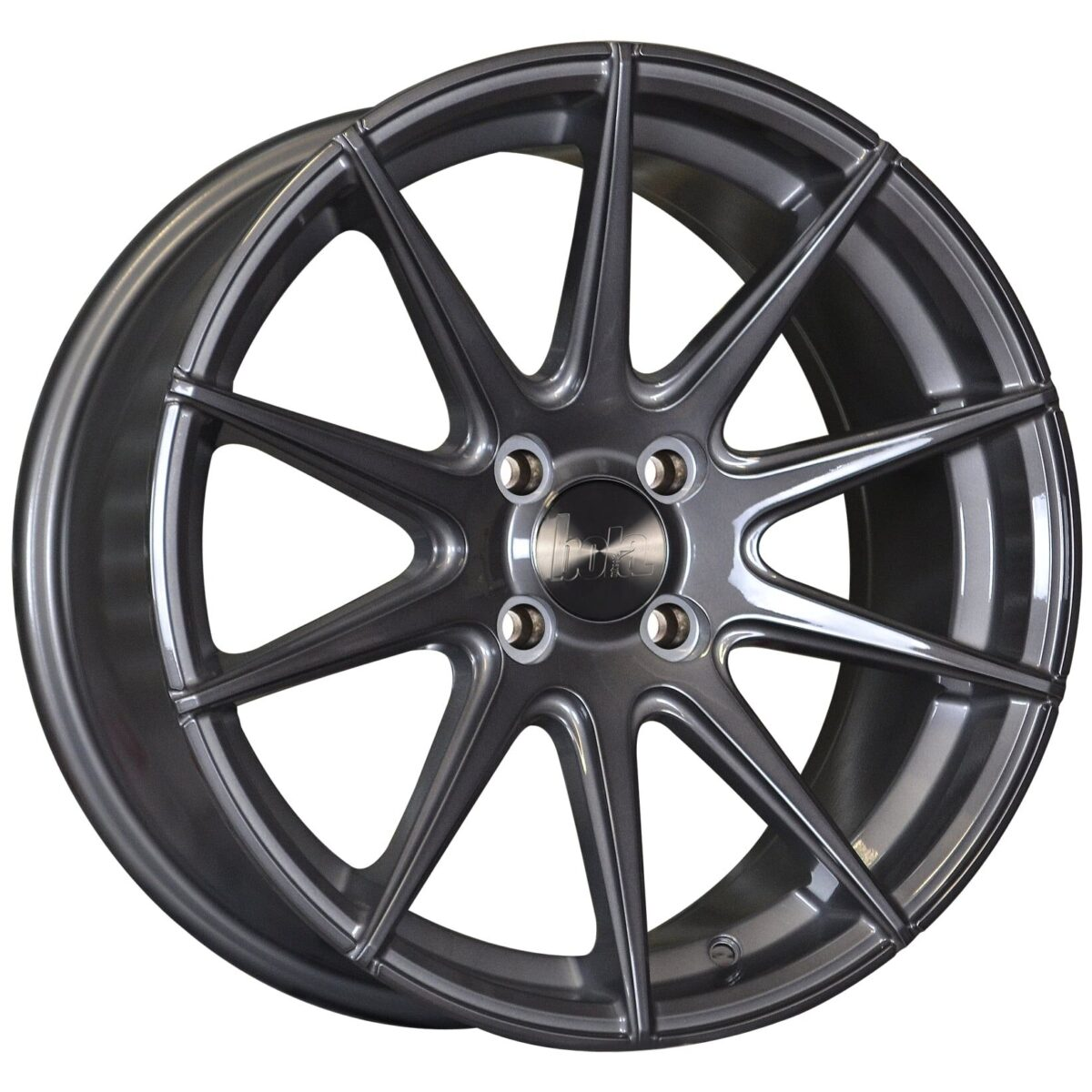 "19"" BOLA CSR Wheels - Gloss Titanium - All BMW Models"