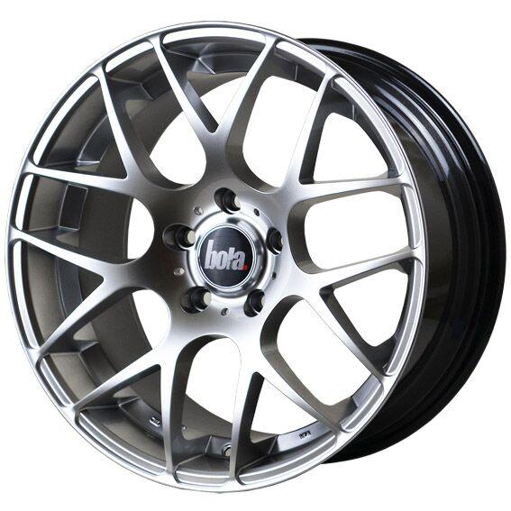 "18"" BOLA MSH Wheels - Hyper Silver - VW / Audi / Mercedes - 5x112"