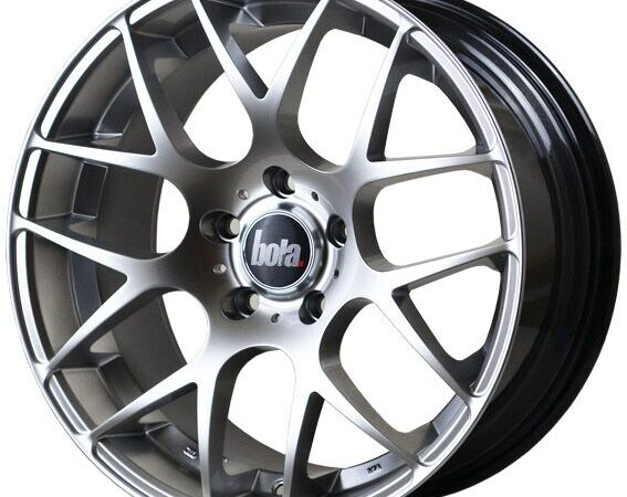 "18"" BOLA MSH Wheels - Hyper Silver - All BMW Models"